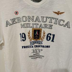 AERONAUTIC MILITARE 100% COTTON TEE FOR MEN
